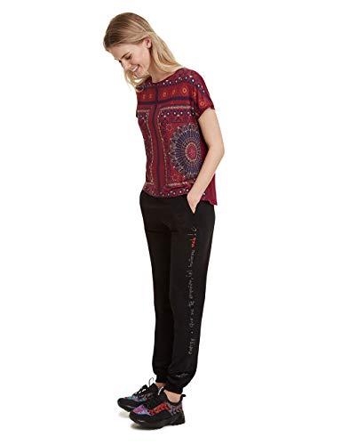 Desigual Women's T-Shirt Larisa Red (Carmin 3000), X-Large Img 2 Zoom