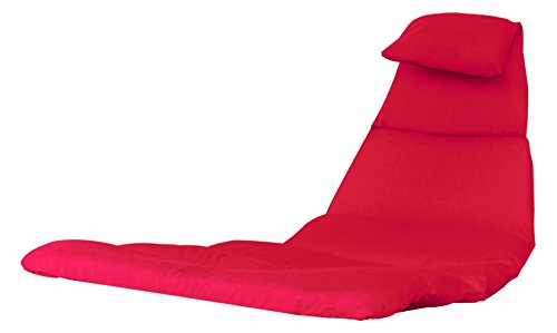 Vivere DRMC-CR Fauteuil suspendu Coussin Polyester, Rouge