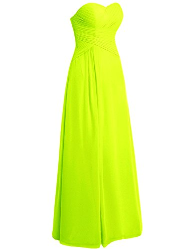 Azbro Women's Strapless Ruched Chiffon Long Prom Dress Beige