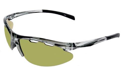 Rapid Eyewear 'Fore Solo' Golf Sonnenbrille für Damen und Herren. Golfbrille mit Polarisierte Grünen Linsen. Blendschutz Sport Brille. UV400 Schutz