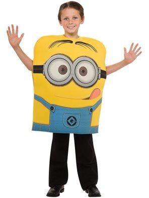Generique - Minions Dave Kostüm für Kinder 104 (3-4 (Kind Minion Dave Kostüm)