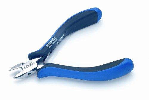 Seitenschneider 125mm   schmitz 3202HS22   ovaler Kopf mit feiner Schneid-Wate   ESD/EGB - Dissipative - Ableitend   Hightech Werkzeug für den Profi   Made in Germany - Solingen