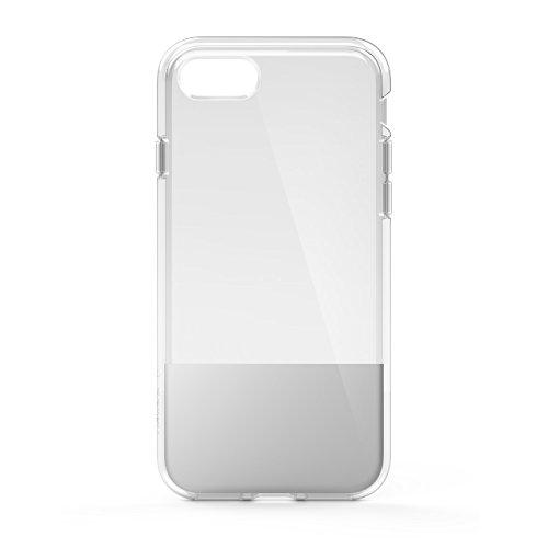 Belkin SheerForce Schutzhülle (TPU, Sturzsicherheit, Anschlüsse frei zugänglich, geeignet für iPhone 8/7)silber