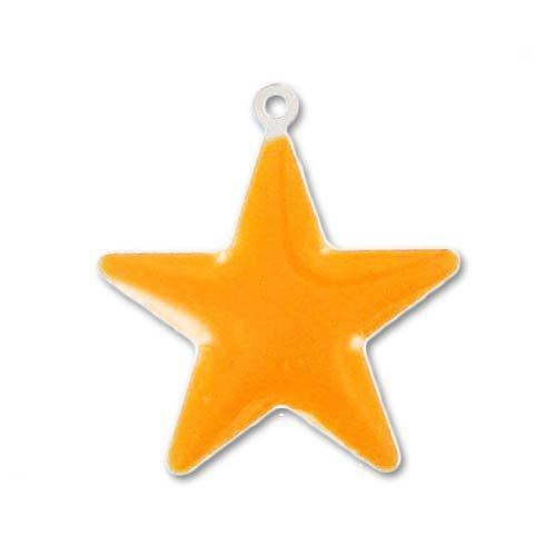 breloque-etoile-email-epoxy-21-mm-orange-x1
