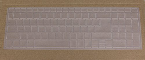 Saco Keyboard Protector Silicone Skin Cover for Acer Aspire ES1-512 Notebook - Transparent  available at amazon for Rs.355