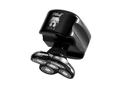 Skull Shaver Elektrorasierer für Herren Pitbull Gold (Pitbull Dusche)