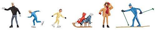 Faller S-H0 0283 - Winterfiguren, Zubehör für die Modelleisenbahn, Modellbau