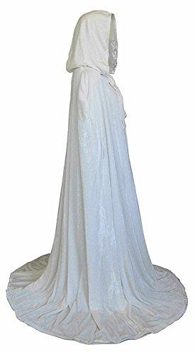 Chuangxing - Poncho - Cappotto -  donna White
