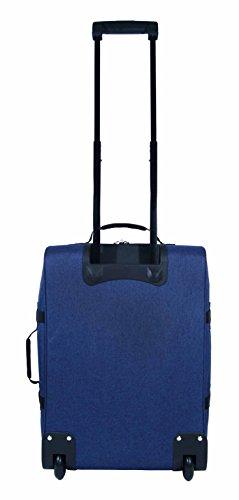 Outdoor-Ausrüstung Jacquard Koffer Handgepäck - Hellblau Dunkelblau