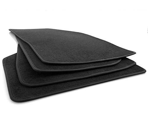 KH parti Tappetini Civic 8(5porte) Originale qualità Tappetini Per Auto 4pezzi in velluto nero