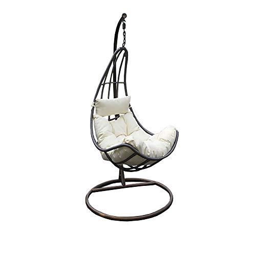 Home Deluxe - Polyrattan Hängesessel - Cama - inkl. Gestell, Sitz- und Rückenkissen