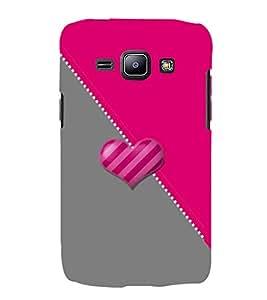 PrintVisa Designer Back Case Cover for Samsung Galaxy J1 (2015) :: Samsung Galaxy J1 4G (2015) :: Samsung Galaxy J1 4G Duos :: Samsung Galaxy J1 J100F J100Fn J100H J100H/Dd J100H/Ds J100M J100Mu (Girly Pattern Tribal Floral Fabric Culture Rajastan Andhra)