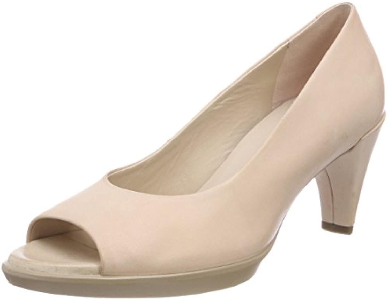 Ecco Shape 55, Zapatos de Tacón con Punta Abierta para Mujer