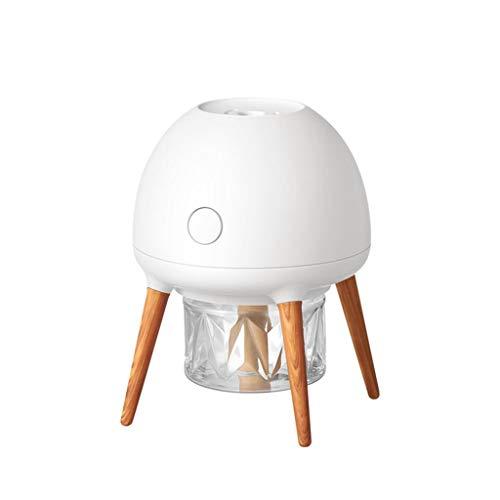 Dicomi LED Mückenschutzlampe Elektrische UV Insektenvernichter Licht Mückenlampe PP Faser Kein Strahlung & Lärm für Familie Kinder Mücken Fliegen Moskitos 1,5W 5V (12x12×15 cm) Weiß -