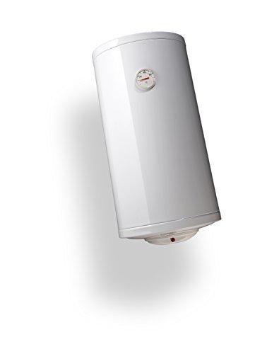 Bandini Braün Boiler Elektro Zylindrische senkrecht Slim mit Anode von Magnesium und Sicherheitsventil, 1200W, 230V, weiß, weiß, SLIM-30 1200 wattsW, 230 voltsV -