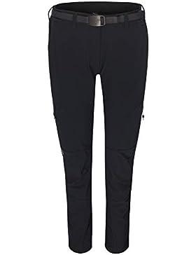 Ternua ® Westhill Pantalón, Mujer, Verde (Deep Forest Melange), S