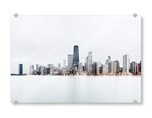 artboxONE Acrylglasbild 150x100 cm Städte Windy City # 2
