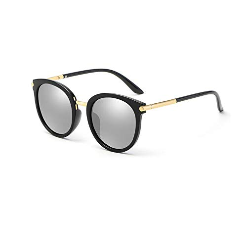 JFFFFWI Polarisierte Sonnenbrille Mode schwarzen Rahmen Wayfarer Unisex für Frauen männer uv400 (Farbe: 2)
