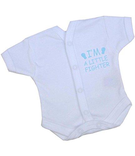 eaf6c17e0f42 BabyPrem Premature Baby Bodysuit Vest Neonatal Little Fighter Clothes  1.5-7.5lb