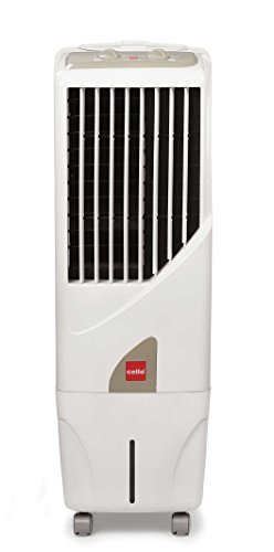 Cello Tower 15-litre Air Cooler (white)
