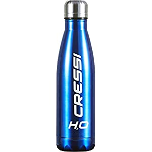 Cressi Water Bottle Double Wall Stainless Steel Insulated - Sport Bottle 500 ml - Different Colors