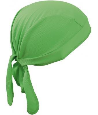 3er Pack - atmungsaktives Kopftuch - Functional Bandana Cap - neue Farben 2016 one size,Lime Green