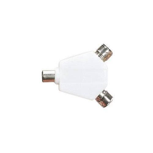 TV Antenne 2Wege Koax Verteiler Y Adapter Signal RF A