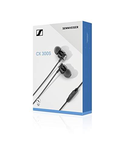 Sennheiser CX 300S In-Ear-Kopfhörer mit Universal Smart Remote, schwarz - 5