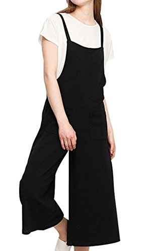 YAN Damen Jumpsuit Gr. Medium, schwarz