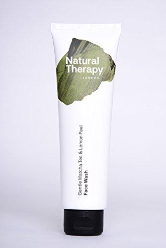 Natural Therapy London Matcha Tee & Zitrone Schälen Sanft Gesicht Waschen