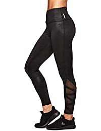 a2d065dbd94 Rbx Active Women s Spliced Legging with Mesh and Reflective Tape