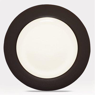 (Chocolate) - Noritake Colorwave Chocolate Coupe Dinnerware - Rim Dinner Plate Noritake Coupe