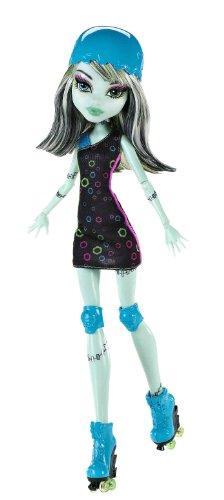 Imagen 1 de Monster High - Muñeca, Monstruopatinadora Frankie (Mattel X3672)