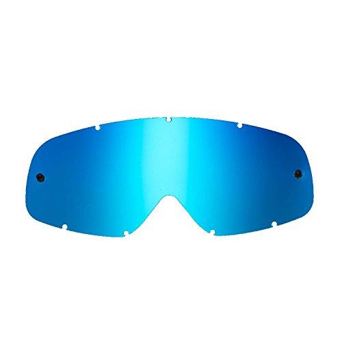 SeeCle 416147 blau ersatzgläser für masken kompatibel mit Oakley O-frame Maske