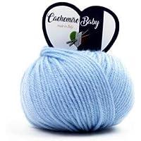 woolove Cachemire Baby 90% Lana 10% Cachemire.85277 Azzurro Confezione da 5  gomitoli be4acf5ba2ee
