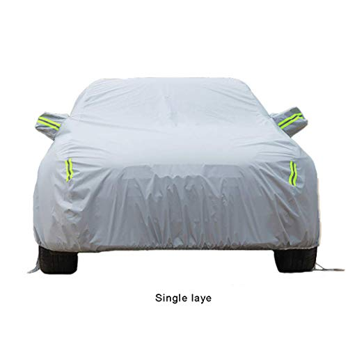 Renault Megane Car Cover All Weather Snow resistant, antifreeze, rainproof, rainproof, dustproof, UV protection for outdoor, Four Seasons, Universal 6 Style 7