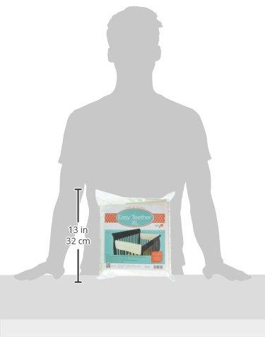 Imagen para Leachco Fácil Mordedor XL Side cuna Rail cubierta, 2Pack, marfil