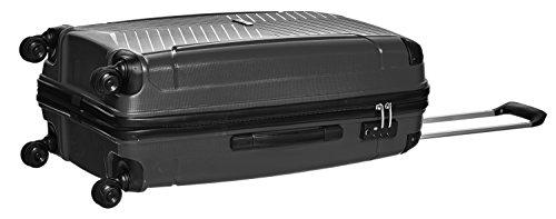 Packenger Koffer Silent Hartschale XL Koffer, 109 Liter, Schwarz - 3