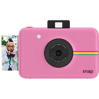Polaroid Snap - Cámara digital instantánea (tecnología de impresión ZINK Zero Ink, 10 Mp, Bluetooth, micro SD, 5 x 7.6 cm), color rosado