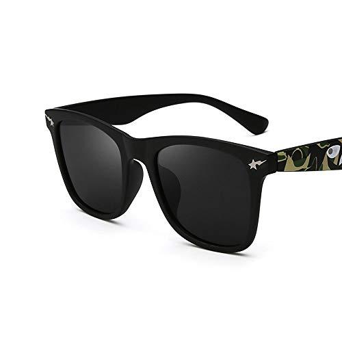 SCJ Sonnenbrille Für Männer Und Frauen High-Definition Fahrspiegel Sportbrillen Mode Brillen Polarisierte Gläser Fahrbrille Blendschutz (Farbe: 1)