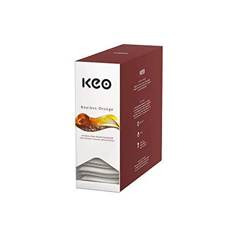 KEO Tee - Rooibos Orange - 15 Teachamps im Aromakuvert