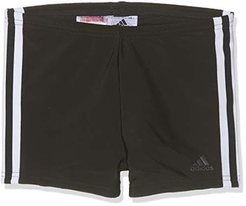 Adidas Fit Bx 3 Bandas Bañador Bóxer, Niños, Negro Black/White, 9-10 años-140