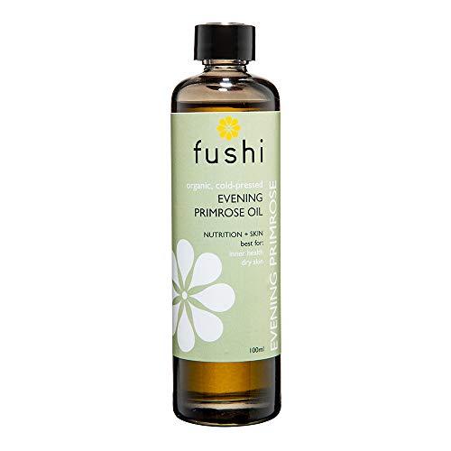Fushi Evening Primrose Organic Oil 100ml Extra Virgin, Biodynamic Harvested Cold Pressed