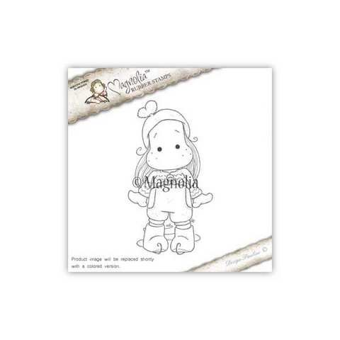 Timbro Magnolia - Tilda pattinatrice sul ghiaccio - Ice Tilda