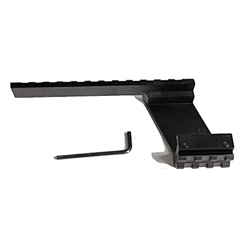 Tactical Universal Scope Bottom to Top Weaver Rail Picatinny 20mm Mount fit Glock 17 19 20 22 23 Hunting Accessories