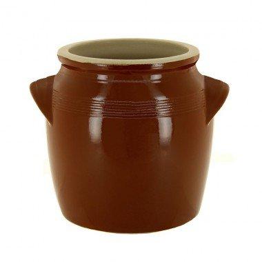 Digoin ceramique - pbe08k7 - Pot à beurre en grès 15l