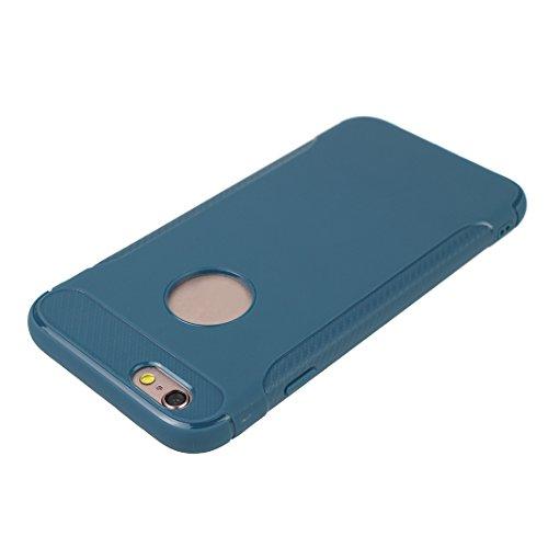 Lot de 2 Etui iPhone 6S Plus Doux TPU Case, Housse iPhone 6 Plus Coque Silicone, Moon mood® Coque iPhone 6 Plus Arrière Etui, Couverture de Protection pour Apple iPhone 6S Plus 5,5 pouces Soft Case Co Vert