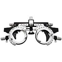BIlinli Gafas de Montura de Lente de Sendero óptico Aleación de Titanio Accesorios Ajustables universales Oftalmólogo de optometría Marco de Prueba