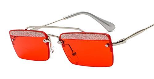 Wikibird Sonnenbrillen Frauen Outdoor-Brille Metallrahmen Mirrored Brille Dekogläser Sommer Strand Outdoor Designer-Brille