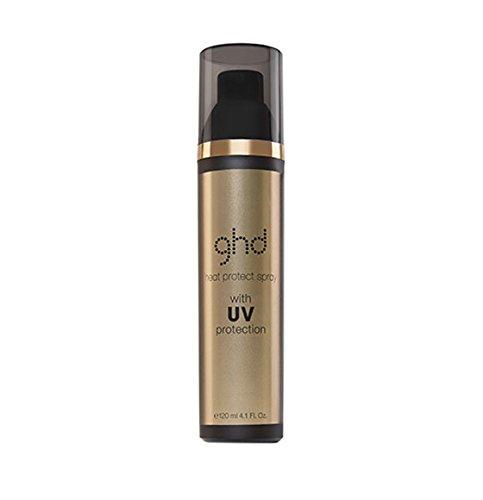 ghd Saharan Gold Heat Protect Spray 120 ml Hitzeschutzspray mit UV-Schutz für gepflegte Haare
